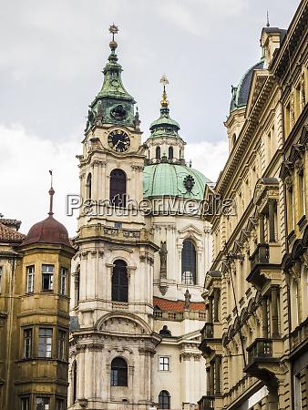 tschechische republik prag st nicholas church