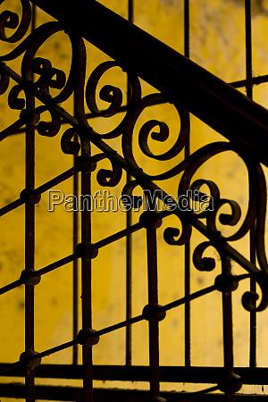 cuba, , havana, , railing, and, ironwork, in - 27329230