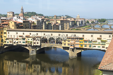 europe italy florence view of arno
