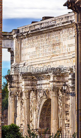 arch of constantine rome italy arch