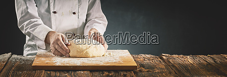 chef, or, baker, preparing, a, mound - 27331614