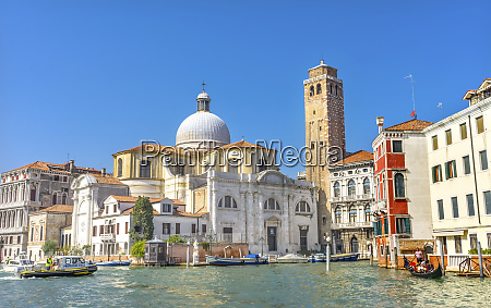 canal santa stefano kirche basilika venedig