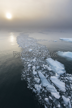 norway svalbard nordaustlandet ice patterns and