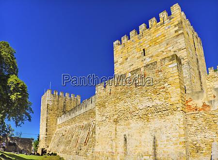 castelo de san jorge lisbon portugal