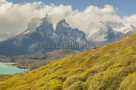 chile patagonien lake pehoe und the