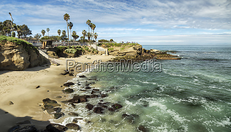 usa california la jolla panoramic view