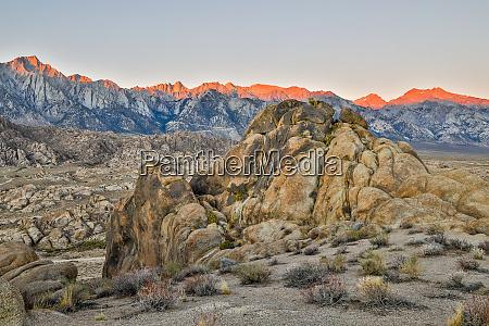 usa kalifornien lone pine alabama hills