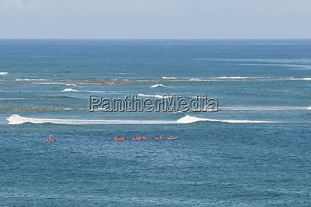 sea kayaking haleiwa beach park north