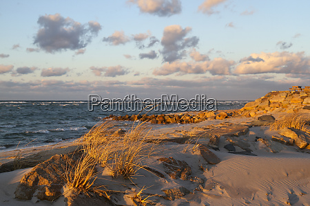 winter sunset on chapin beach dennis