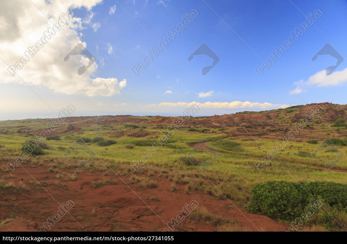 kaehiakawaelo, (garten, der, götter), eine, marslandschaft, aus - 27341055