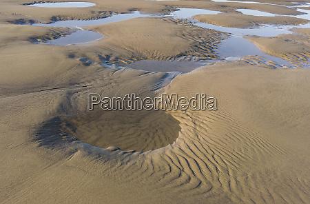 usa oregon manzanita reflexionen in strand