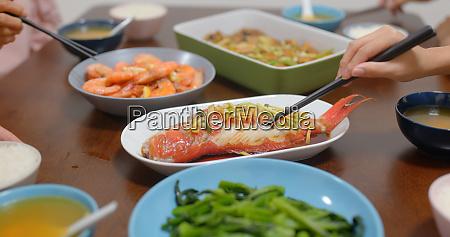 chinesische kultur familienessen zusammen