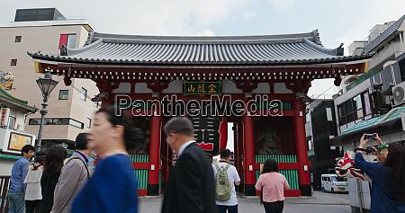 tokyo japan 24 june 2019 sensoji