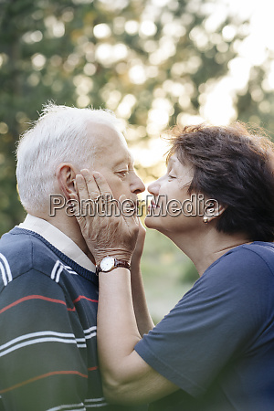 profile, of, senior, couple, in, love - 27358317