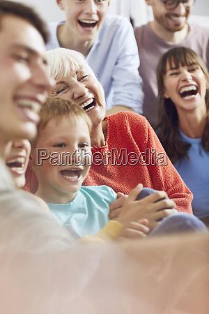 three, generations, family, having, fun, at - 27367782
