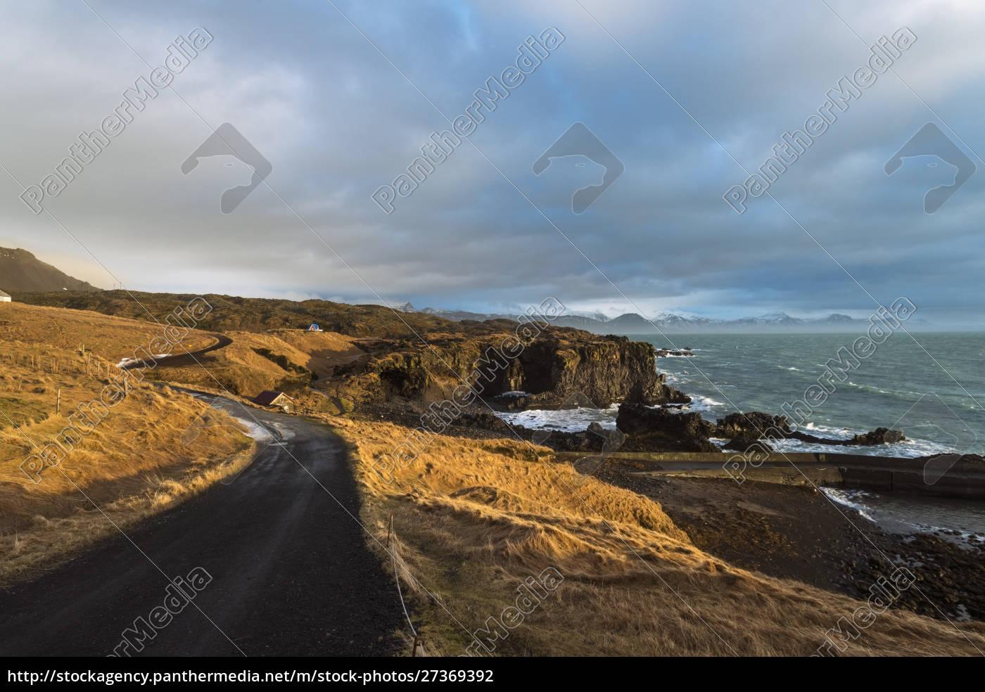 iceland, , snaefellsjokull-nationalpark, , hellnar, , snaefellsnes, peninsula, at - 27369392