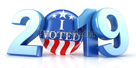 abstimmung 2019 rote weisse und blaue