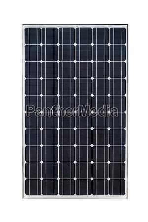 solarpanel isoliert auf weissem hintergrund