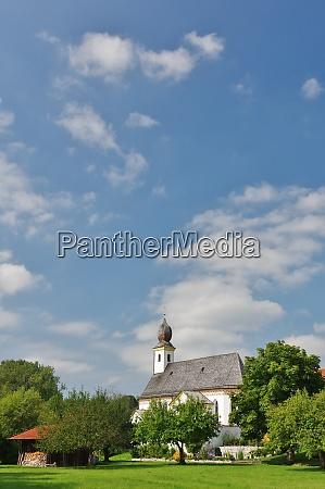 kirche filialkirche sankt martin ischl seeon