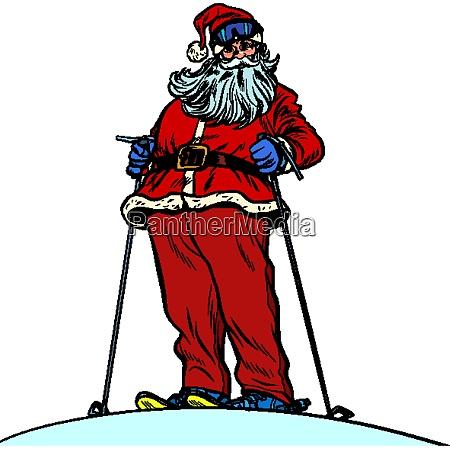 weihnachtsmann charakter auf schneeberg frohe weihnachten