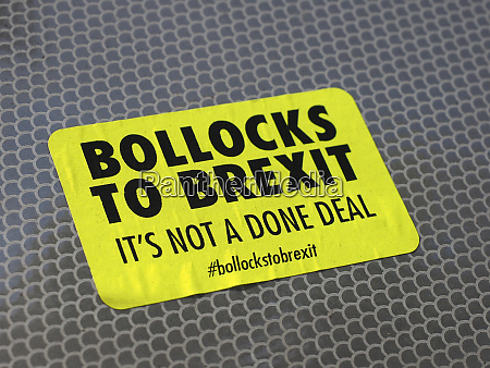 bollocks to brexit it es not