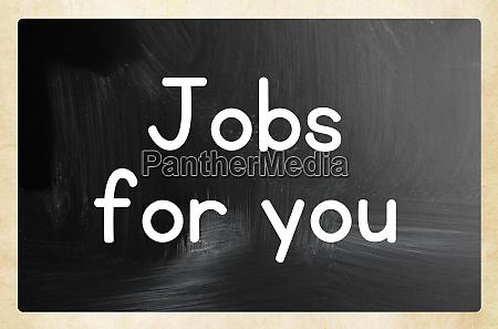 jobs fuer ihr konzept