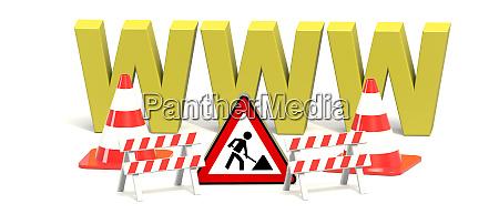 baustelle website www