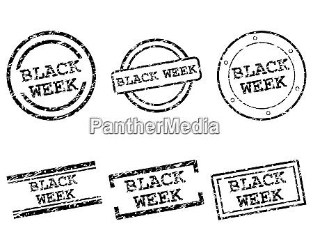 blackweek briefmarken