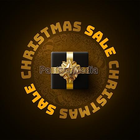 weihnachten verkauf grafik design vorlage