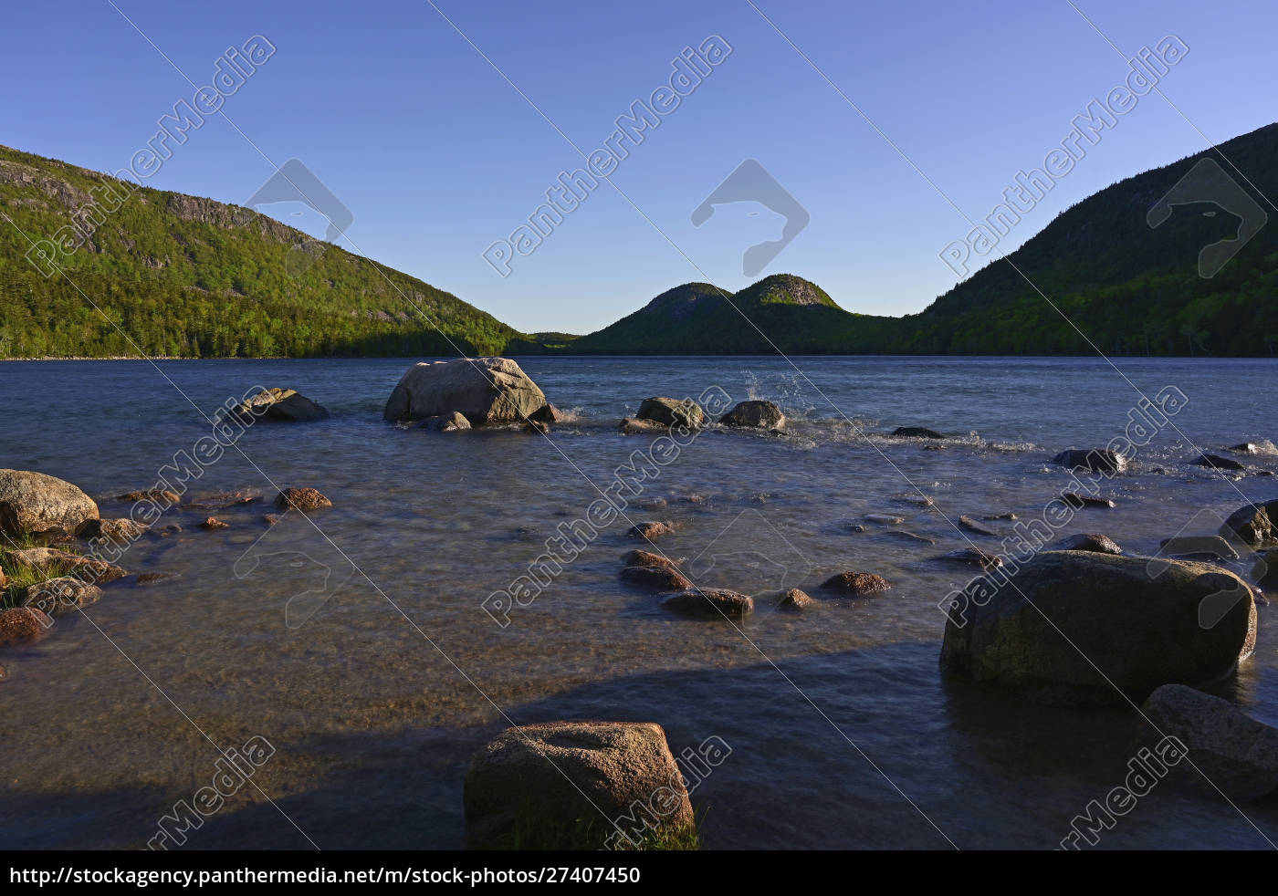 jordan, pond, in, acadia, nationalpark, vereinigte, staaten - 27407450