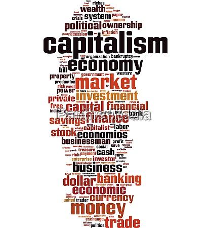 kapitalismus wort wolke