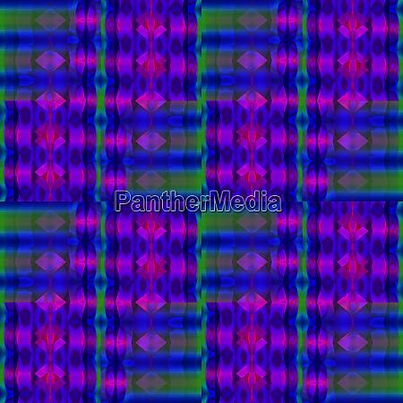 regelmaessig diamantmuster dunkelblau gruen violett violett