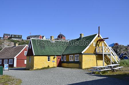 historisches gebaeude im freilichtmuseum sisimiut groenland