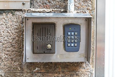 intercom pin code