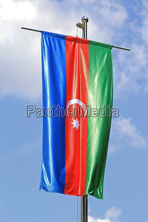 aserbaidschan flagge