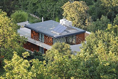 hidden solar house