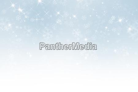 abstrakter winterhimmel hintergrund mit schneeflocken