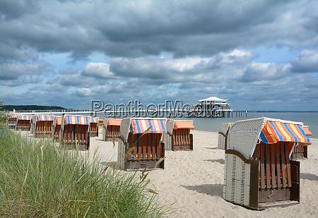 strand von timmendorfer strand am baltikum