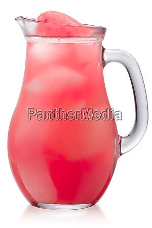 iced watermelon drink jug paths