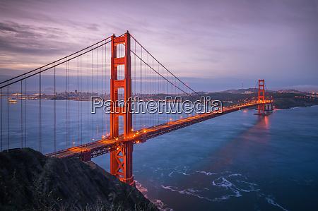 luftaufnahme der golden gate bridge san