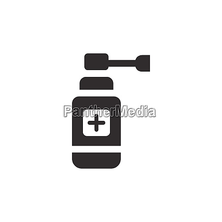 ear spray icon pharmacy and medicine