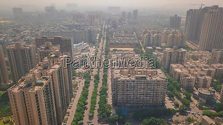 luftaufnahme von indrapuram ghaziabad delhi ncr