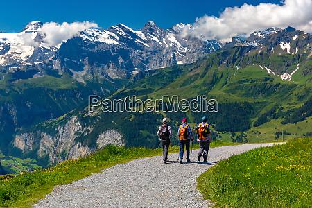 mountain mannlichen schweiz