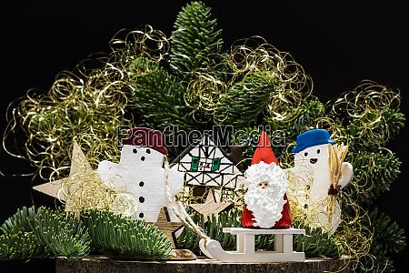 weihnachten mit den schneemaennern