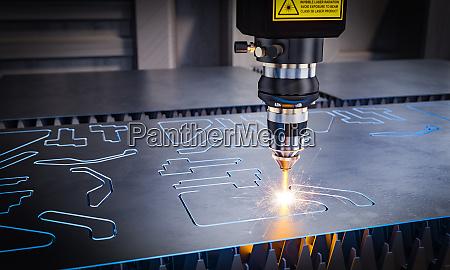 cnc lasermaschinen fuer das schneiden von