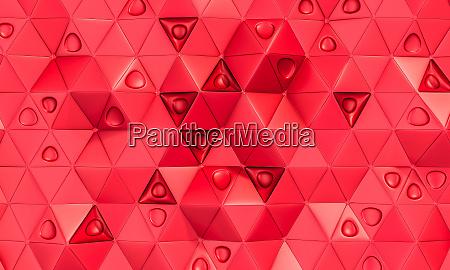 geometric background with triangular shapes
