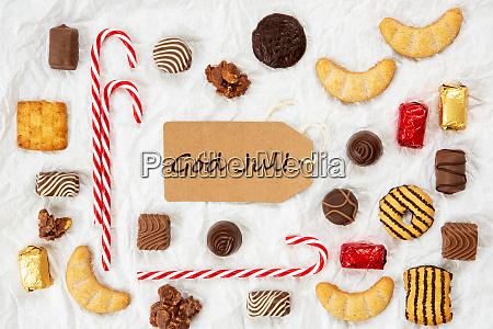 suessigkeiten weihnachten sammlung label gott jul