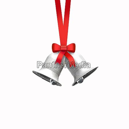 dekorative rote schleife mit vertikalen band