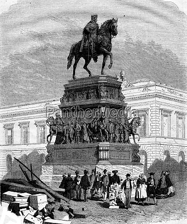 the monument of frederick the great