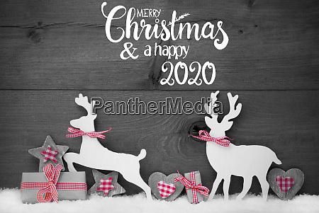 geschenk hirsch herz schnee frohe weihnachten
